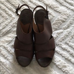 Leather Lucky Brand heels